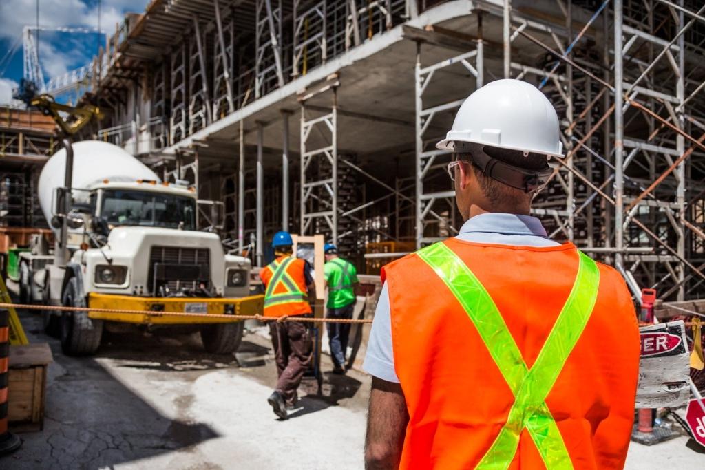 Arbeitsschutz auf der Baustelle